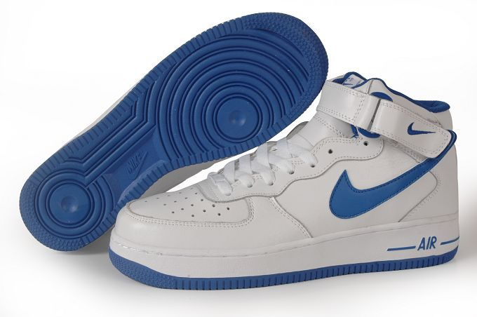 air force 1 bianche blu