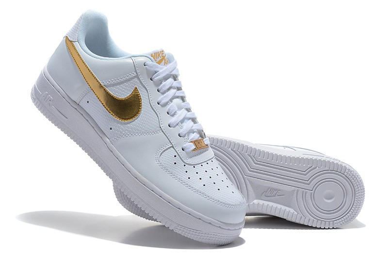 air force 1 basse bianche uomo