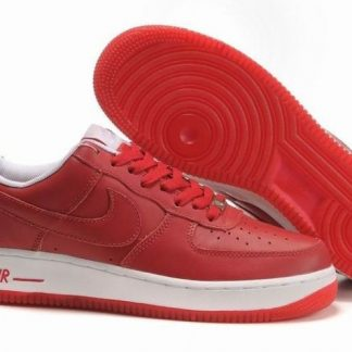 nike air force 1 bianche rosse