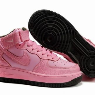 Nuove Sconti Nike Air Force 1 Mid Donne Argento Bianche